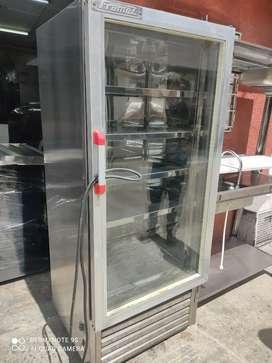 Congelador panorámico