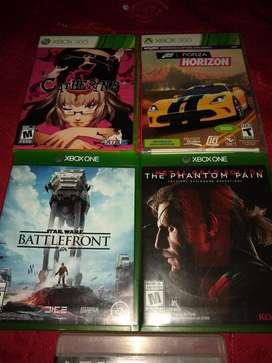 Vendo O Cambio X Juegos de Xbox One
