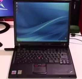 Subasto un portátil IBM