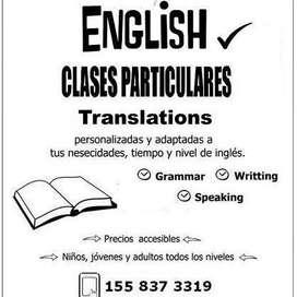 English Classes & Translations.
