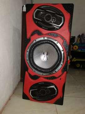 Parlante amplificador con plata sony