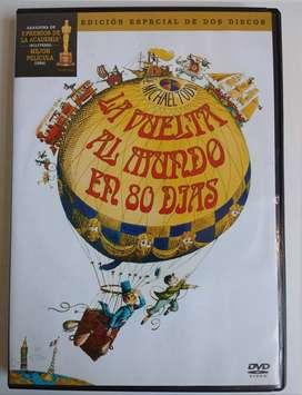 ORIGINAL  - DVD La vuelta al mundo en 80 dias - CDJESS