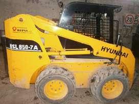 Minicargadora Hyundai 850-7A