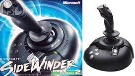 Vendo Cambio Joystick Microsoft SideWinder Force Feedback 2