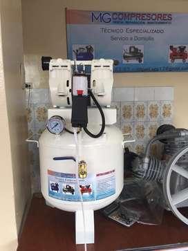 Compresor Thomas de 1 Hp Libre de Aceite