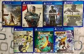 Juegos PS4 - acepto cambios