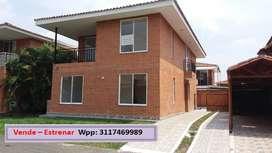 ¡Excelente oportunidad! Se vende amplia casa para Estrenar - Hacienda El Castillo Jamundí.