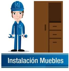 Servicio Armado Instalación Muebles Mod. Prefabricados Cocinas Closet bases TV Homecenter Falabella EASY EXITO