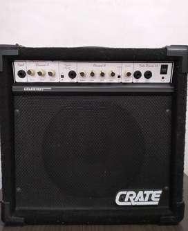 Amplificador de guitrarra Crate TD35 con preamplificador de Válvula