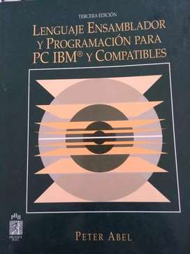"""""""Lenguaje ensamblador y programación para PC IBM y compatibles"""". Peter Abel"""
