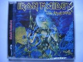iron maiden live after death 2 cd nuevo sellado segunda mano  Parque Patricios, Capital Federal