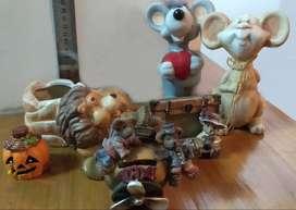Adornos de cerámica, lote en oferta!