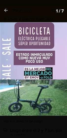 Bicicleta eléctrica 2fold by emov