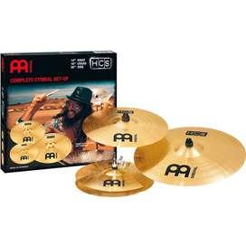 Platillos Meinl HCS141620 Hit Hat Crash Music Box