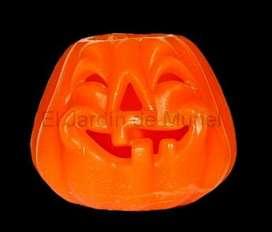 Calabaza Halloween Centro de mesa 20cm de diametro