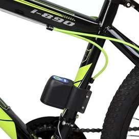 Alarma Bicicleta Sensor De Movimiento Súper Sencible + Control Remoto