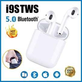 Auriculares manos libres con estuche simil apple I9s Bluetooth Inalambrico Manos Libres