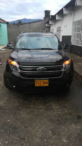 ford explorer limited 3.5 modelo 2014 color negro