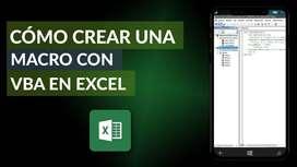 Asesor en Excel Avanzado con Macros y Desarrollo de Plantillas Programadas con Visual Basic for Aplications VBA