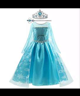 Disfráz Frozen Elsa Disney Niña Talla 4-5