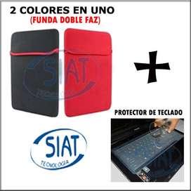 Funda Para Portatil + Protector Teclado Silicona 14 15