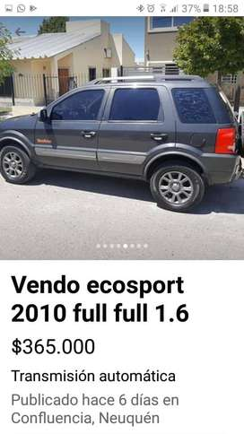 Vendo Ecosport 1.6 freestyle full