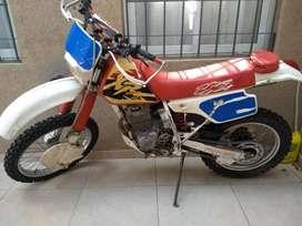 HONDA XR 250, PERMUTO VEHÍCULO