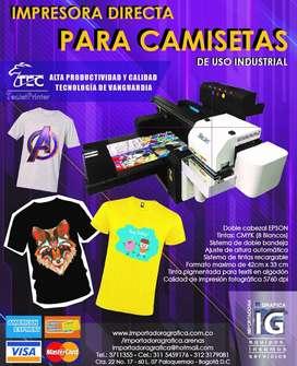 aa DTG Impresora directo a camisetas