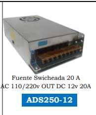 FUENTE DE PODER 12V 20A