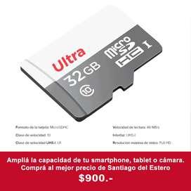 MicroSD 32gb - Memoria para celular/tablet - SanDisk