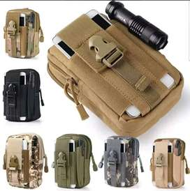 Bolso Mini Para Camping Tactico Multiuso Porta Celular
