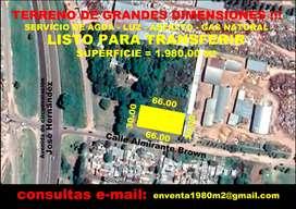 TERRENO DE GRANDES DIMENSIONES