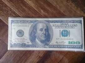 Vendo billetera nueva Dolar