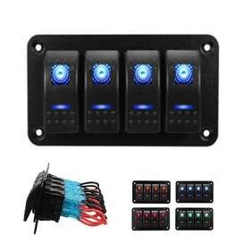 Panel de switches tablero botonera interruptotes