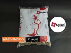 AGRINAL alimento para Conejos 1 kilo