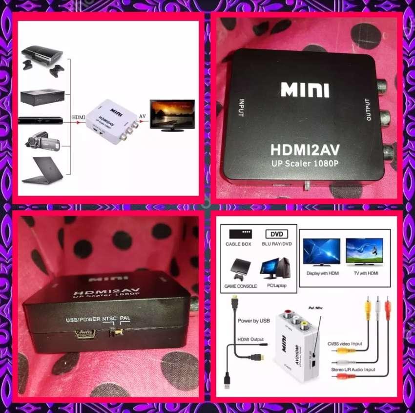 Conversor HDMI a AV Nuevo ÚLTIMO! 0