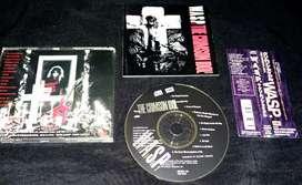 WASP - The crimson idol edición japonesa