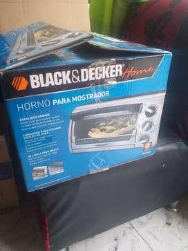 HORNO TOSTADOR BLACK DEKER