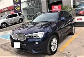 BMW X3 2015 Automática 56000km. 08 airbag neblineros aros, Motor 2.0i Cuero $.21,950.00