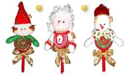 NAVIDAD Colombinas navideñas valor unidad