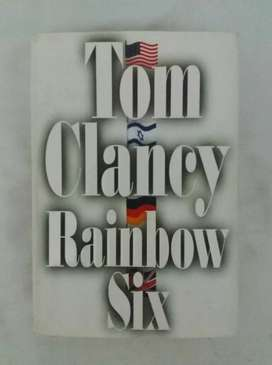 Tom clancy rainbow six libro en ingles oferta