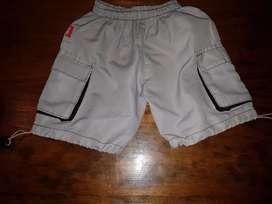 Short nylon T: 2/3