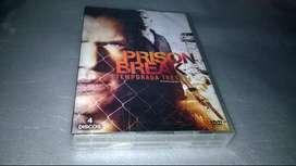 CAMBIO PRISON BREAK TEMPORADA TRES DVD ORIGINAL NUEVO Y SELLADO  4 DISCOS