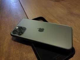 iPhone 11pro 256GB Green o Verde