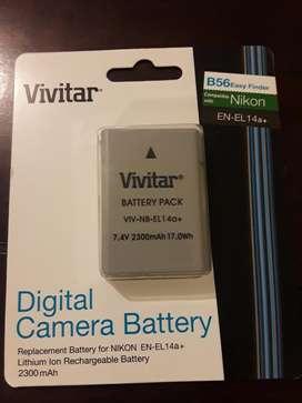 Bateria Vivirtar para Nikon 2300mah