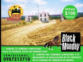 Venta de Quintas Vacacionales, Desde 1.000m2 hasta 6.000m2, Adquiere Ya La Tuya Solo Con 100 Usd De Entrada S1