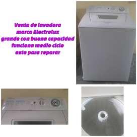 Venta de lavadora Electrolux premium 8kg