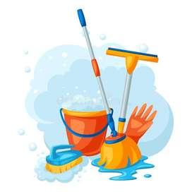 Ofrecemos servicio de limpieza