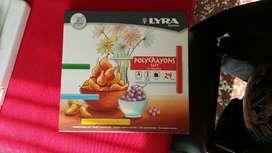Caja tiza pastel soft Lyra.Germany .nueva x 24 colores