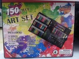 Kit Arte 150 Piezas Niños Niñas